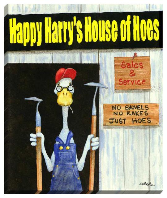 Harrys Hoe House Illuminated Wall Art contemporary-artwork
