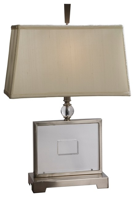 Art Deco Uttermost Perry Table Lamp contemporary-table-lamps