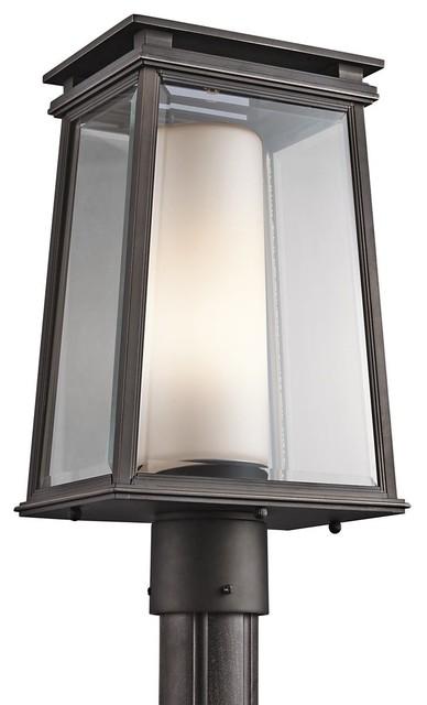 Modern Outdoor Lighting Design: Modern Outdoor Post Lights Image