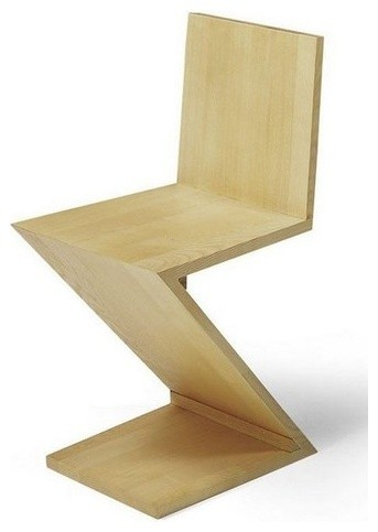 Gerrit Rietveld Zig Zag Chair modern-dining-chairs