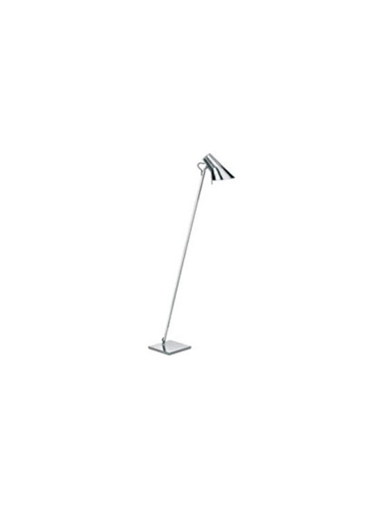 Kelvin Floor Lamp By Flos Lighting - Kelvin by Flos is a series of table, floor and wall fixtures, realized with refined high tech materials suitable for both office and home solutions.