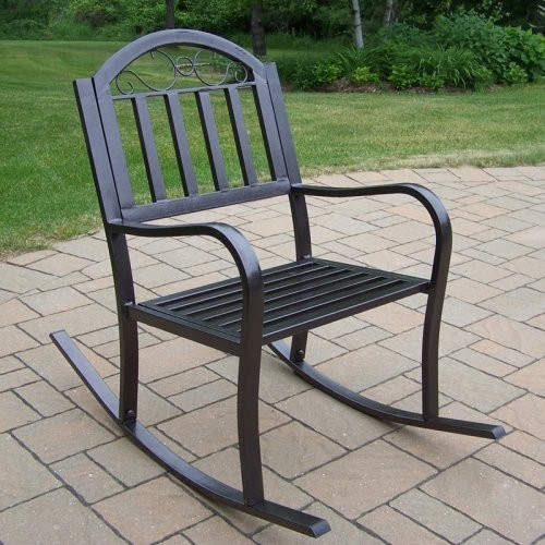 oakland living rochester outdoor rocking chair contemporary rocking chairs by hayneedle