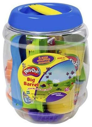 Play-Doh Big Barrel Playset contemporary-kids-toys-and-games