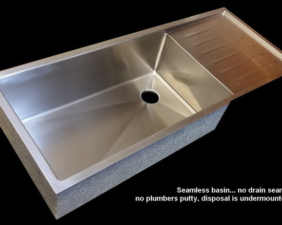 Custom Kitchen Sinks -