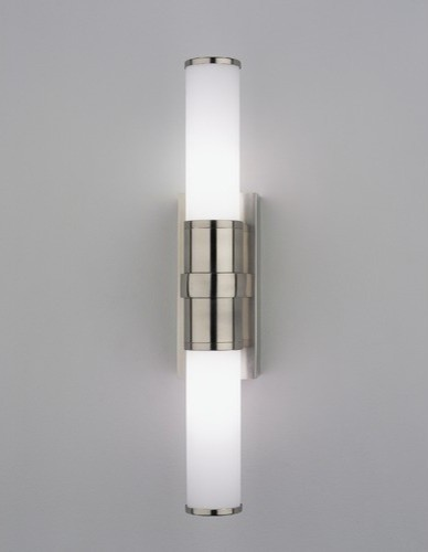 Halogen Bathroom Wall Sconces : Roderick Halogen Bath Wall Sconce in Antique Silver - Modern - Lighting - by AllModern