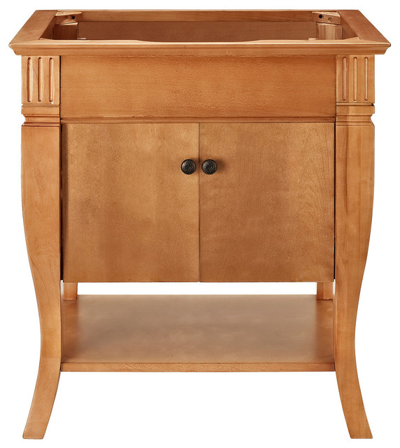 camino 30 vanity with doors maple transitional