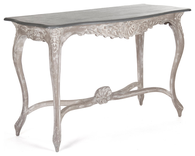 rita swedish gustavian french style carved wood console
