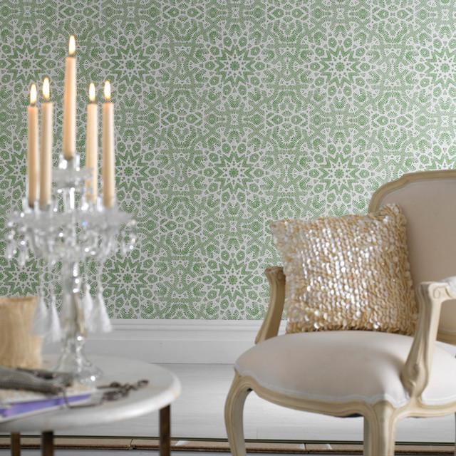 Graham & Brown - Fracto Wallpaper modern-wallpaper