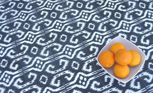 Ikat Designs on tile eclectic-wall-and-floor-tile
