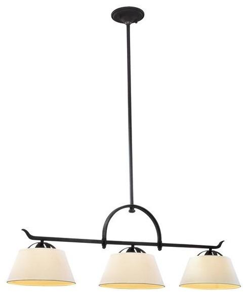 Wyatt 3 Light Pendant Island modern-pendant-lighting