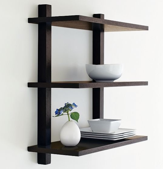 Wall Mounted Bookcase Modern Bookcases By West Elm: wall mounted bookcase shelves