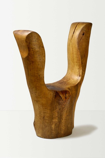 Whale Bone Chair eclectic-living-room-chairs