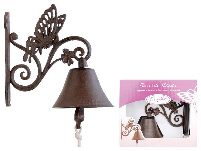 Outdoor Cast Iron Bell Decor