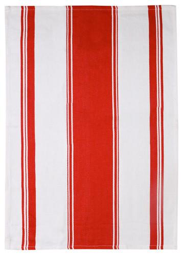 Symmetry Red Dishtowel traditional-dishtowels