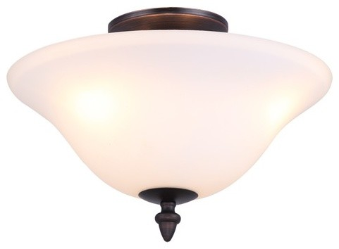 Devonshire 2 Light Semi Flush Mount modern-ceiling-lighting