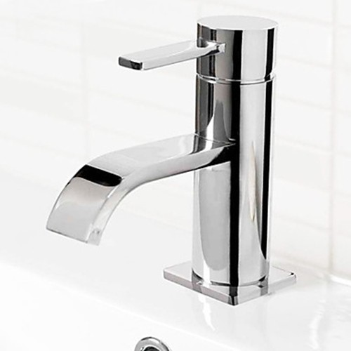 Contemporary Centerset Bathroom Sink Faucet