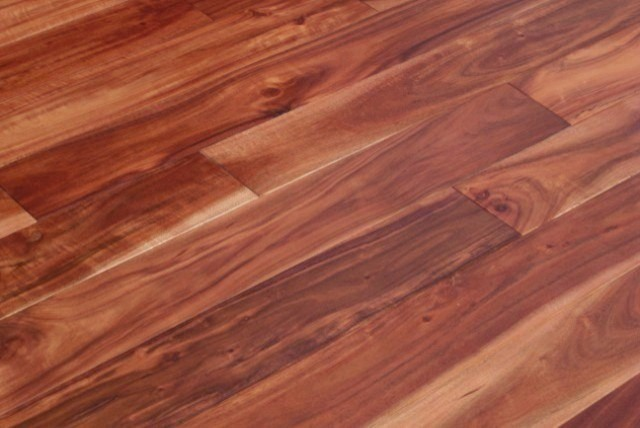Acacia Asian Walnut Stained Hardwood Floors