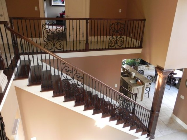 Custome Home 2 traditional-staircase