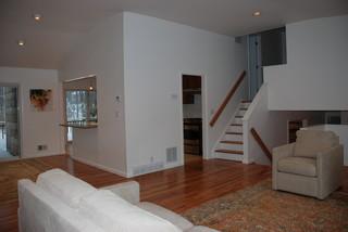 amazing split level living room | Split-Level Revived