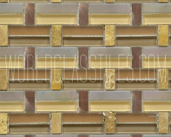 Impressions Wicker Mosaic Tiles -