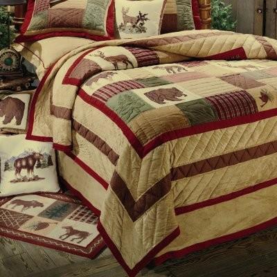 C and F Enterprises Oak Ridge Stripe Quilt modern-quilts