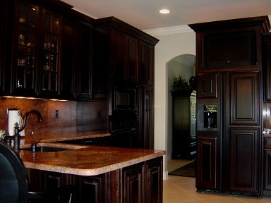 Bateman Residence traditional-kitchen