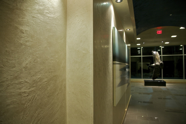 Decorative Interior Plastering : Venetian plaster sqft full interior contemporary