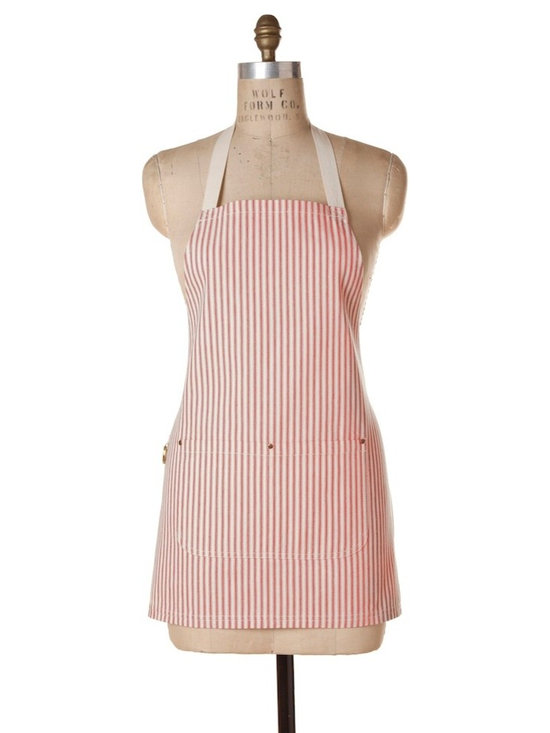Birdkage - Brittany Mini Bib Apron - Roomy on the sides, and shorter in length than the classic bib style.