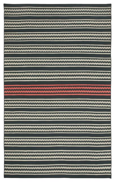 Dokka Stripe rug in Kettle Blush rugs