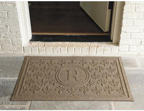 Fleur De Lis Doormat Personalized Traditional Doormats