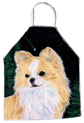 Starry Night Chihuahua Apron SS8508APRON traditional-aprons