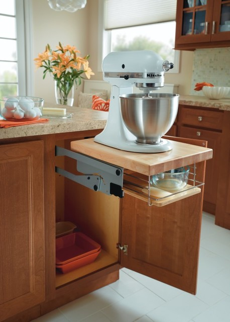Homecrest base mixer cabinet kitchen cabinetry other metro by