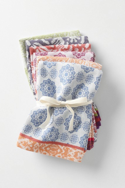 Nifty Napkins eclectic table linens
