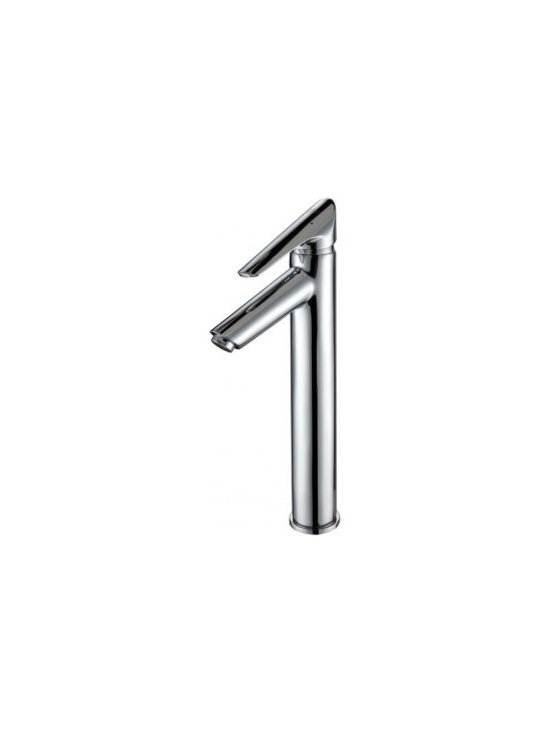 Kraus Decus Single Lever Vessel Faucet Chrome FVS-1800CH - Add a touch of elegance to your bathroom with a vessel sink faucet from Kraus