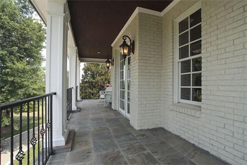 Custom Designed 9,000sft Plantation Home traditional-porch