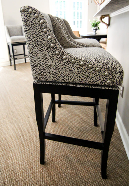 Animal Print Bar Stools