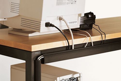 Cord Management Straps contemporary cable management