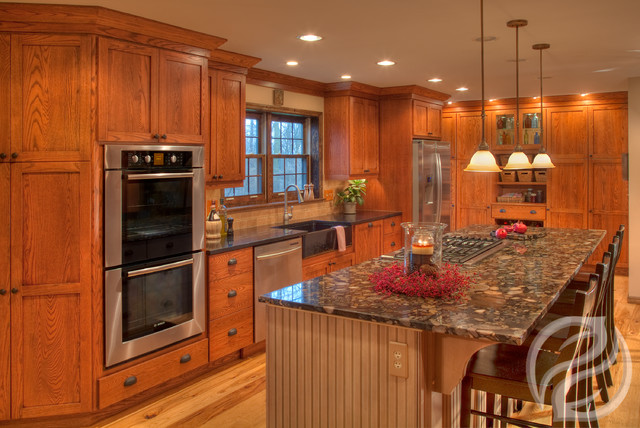 Augusta A, Columbus, OH - Greenfield Cabinetry traditional-kitchen