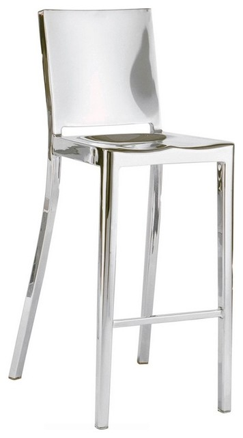 Modern Stainless Steel Stool Counter Height