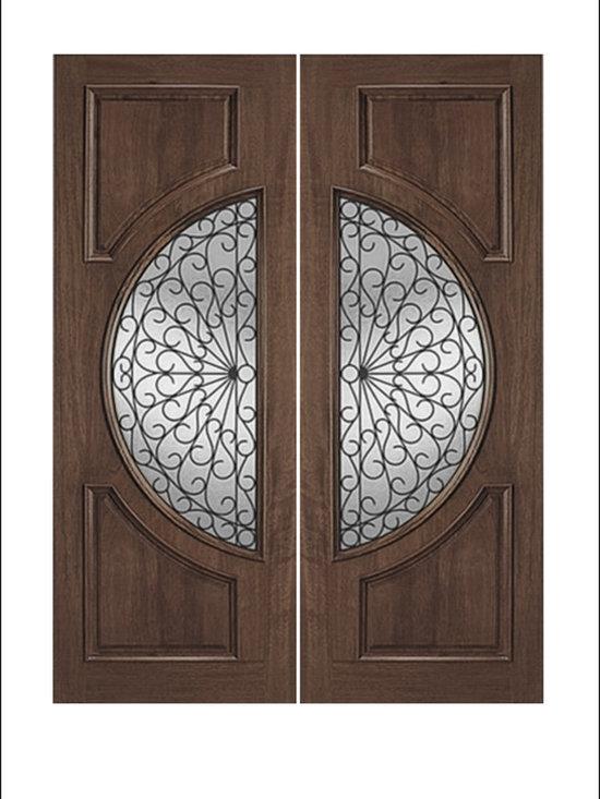 IR Iron Insulated Entry Doors Model  # 745 -