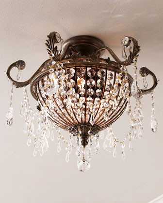 Crystal Light Fixture traditional ceiling lighting