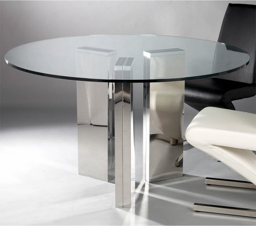 Top Round Dining Table Contemporary Dining Tables By Hayneedle