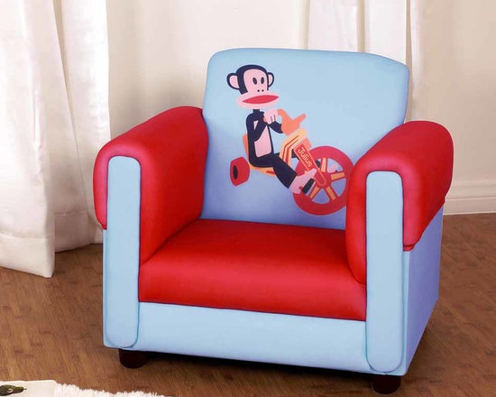Kids Furniture - Enjoy a comfortable, sturdy armchair that is sure to please any little Julius fan. Perfect for any boy or girl's room.