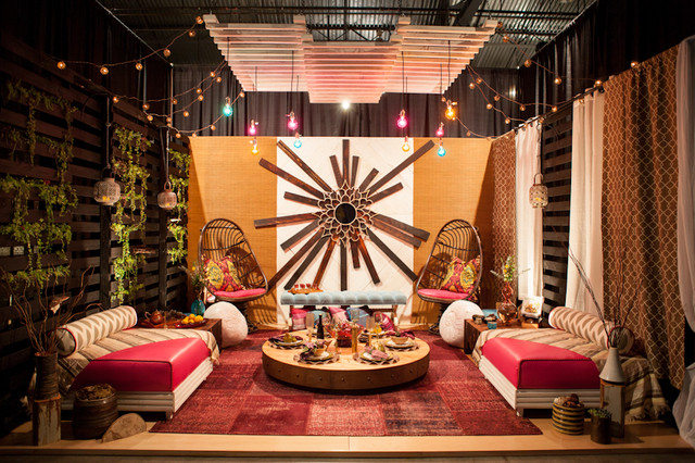Glamp the Casbah: NW Meets Marrakech   Serving Up Style 2013 dining-room