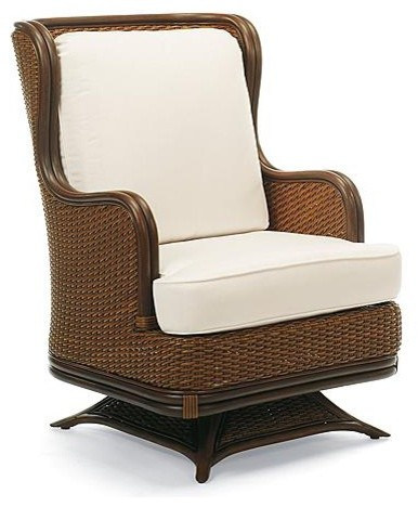 Pacifica Swivel Rocker Lounge Chair With Cushions