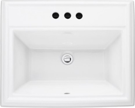 American Standard Town Square 0700008 Countertop Sink contemporary-bathroom-sinks