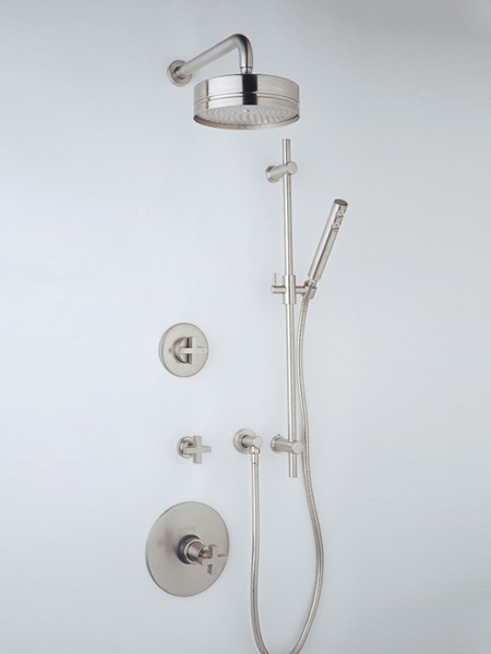 Rohl Modern Minimalist Thermostatic Shower Trim - modern