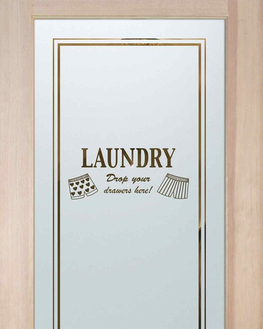 Laundry room doors drop your drawers eclectic for Laundry external doors