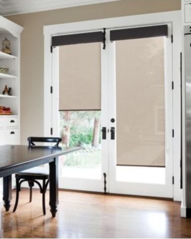 Window design ideas - Contemporary - Roller Shades - sacramento - by Smith+Noble