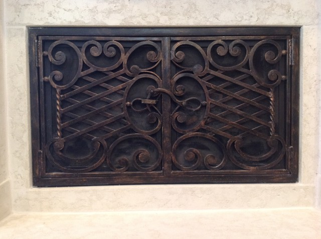 Doors Accessories Traditional Fireplace Screens San Diego By Fireside Design Center